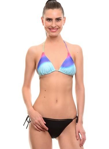 T-Box Bikini Üst Mor